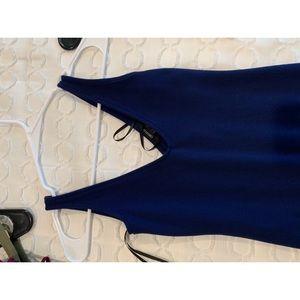 Forever 21 size s dark blue dress